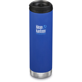 Klean Kanteen TKWide Bottle with Cafe Cap 592ml Vacuum Insulated deep surf (matt)